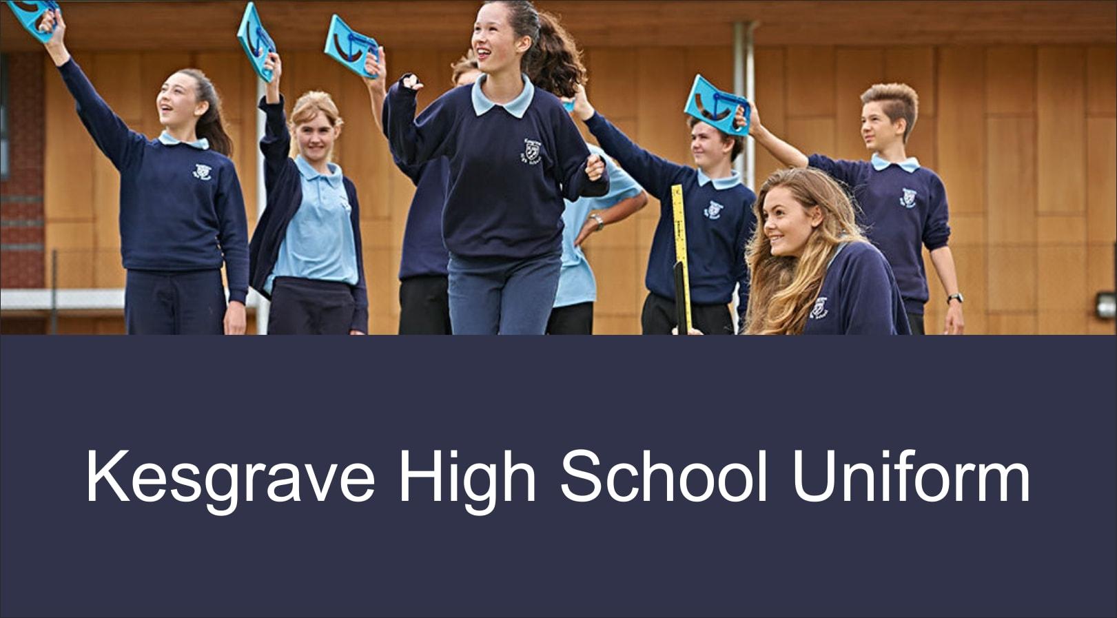 Kesgrave High School uniform features image