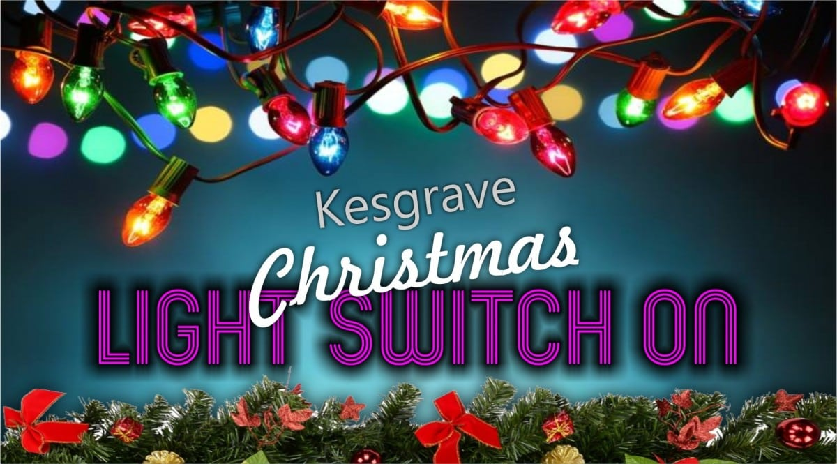 kesgrave christmas light switch on