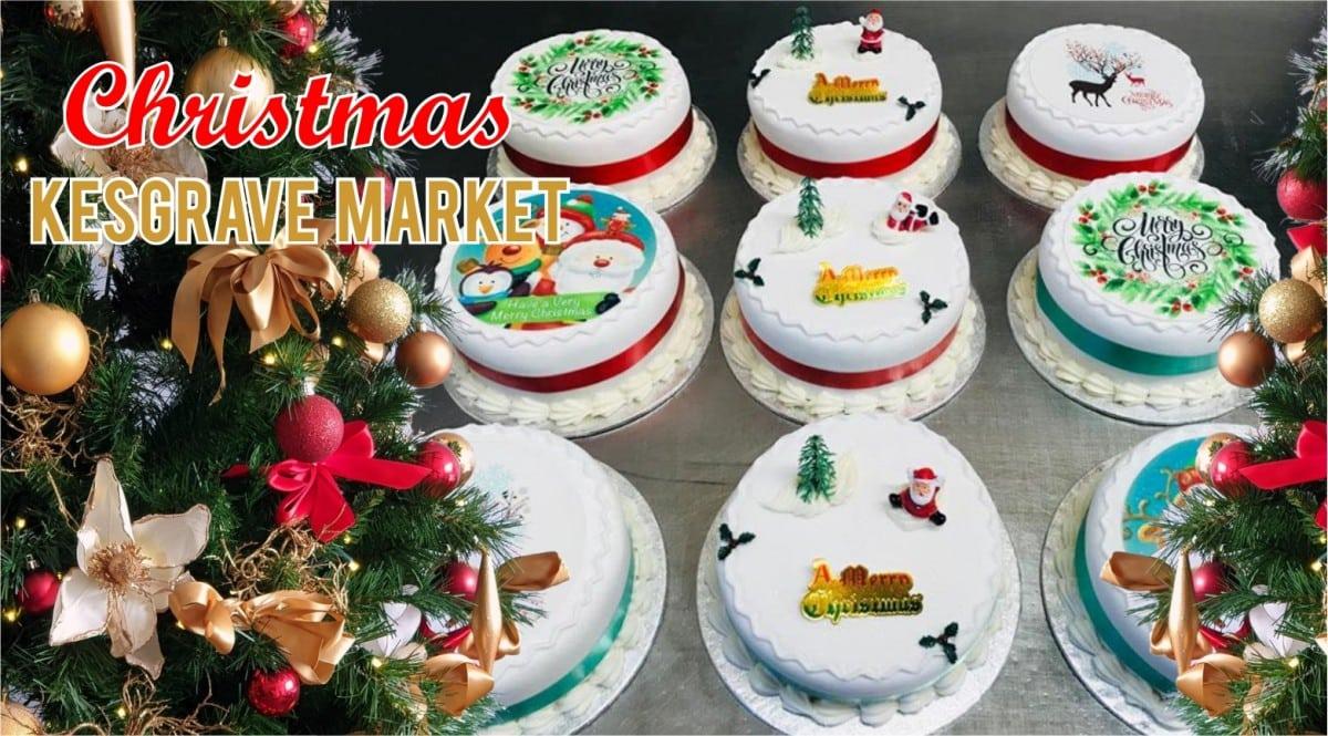 Christmas Kesgrave MArket
