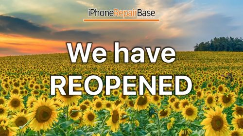 we have reopened iphone repair base kesgrave
